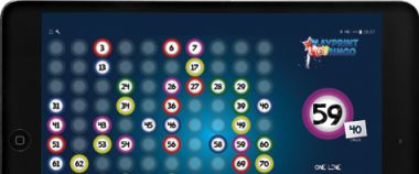 Play a game of online bingo on your tablet!